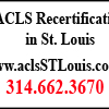 St. Charles, Missouri | ACLS Recertification Classes
