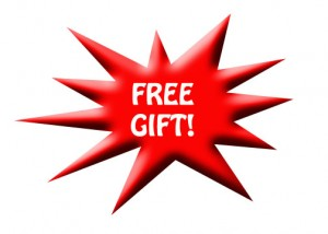 FREE GIFT. LIMITED TIME!