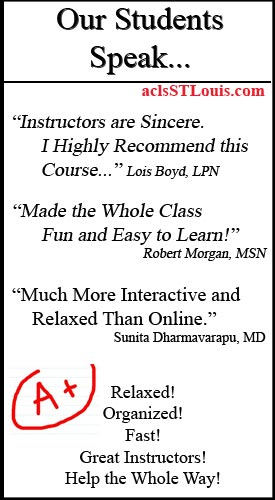 acls bls classes recertification st louis mo