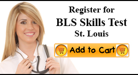 st louis bls skills test center