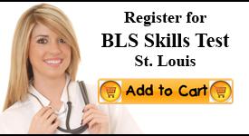 st louis bls skills test center