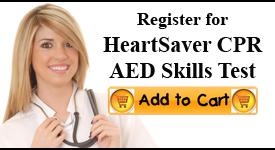 Heartsaver CPR Skills Check