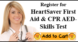 Heartsaver Firstaid CPR Skills Check