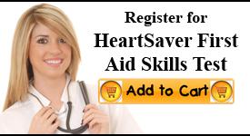 Heartsaver First Aid Skills Check