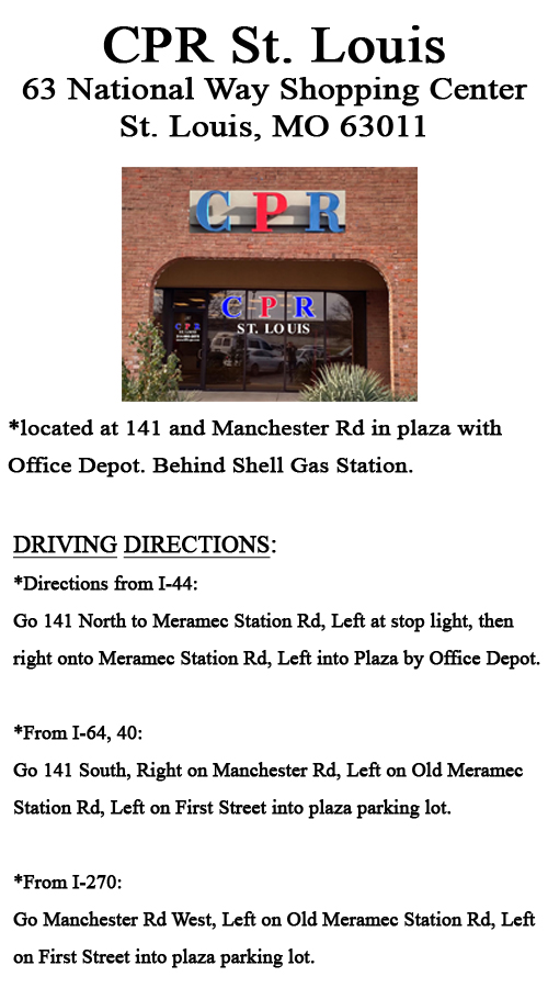 CPR St. Louis Location