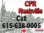 BLS class in Nashville - BLS CPR