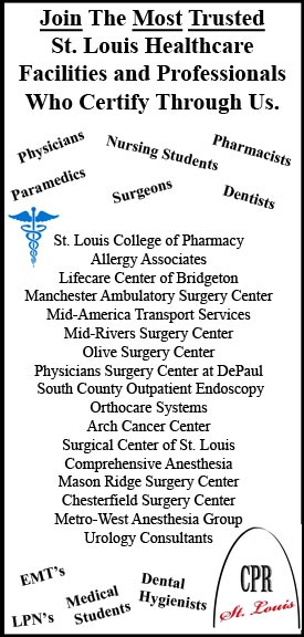 CPR Certifications in St. Louis