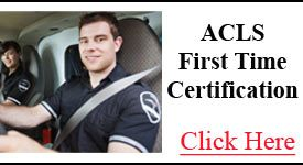 ACLS First Time Certification Class | CPR St. Louis