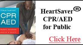 Basic CPR for Public | AHA HeartSaver CPR-AED