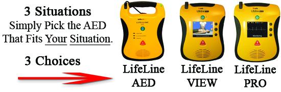Defibrillator AED Types