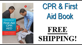 HeartSaver CPR-FirstAid Book